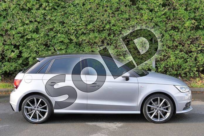 Image four of this 2016 Audi A1 Sportback Special Editions 1.6 TDI Black Edition 5dr in Floret Silver Metallic at Worcester Audi
