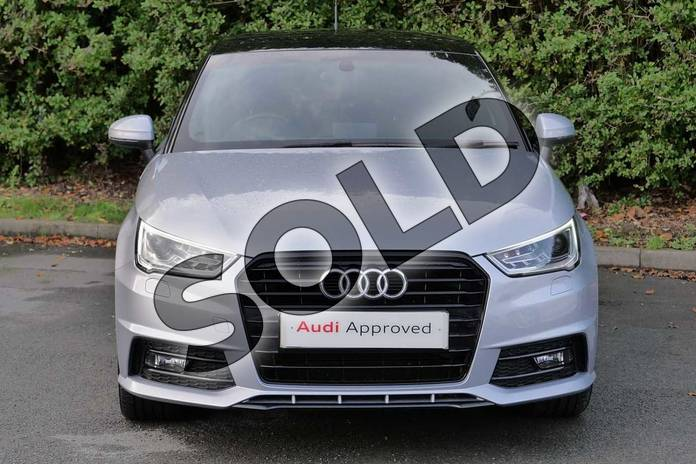 Image seven of this 2016 Audi A1 Sportback Special Editions 1.6 TDI Black Edition 5dr in Floret Silver Metallic at Worcester Audi
