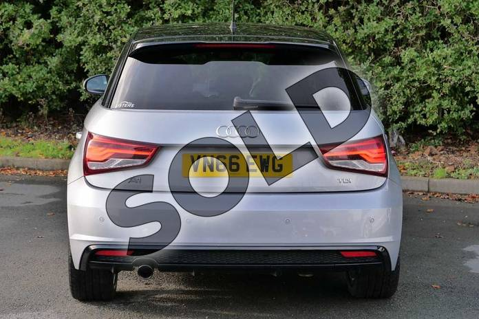 Image nine of this 2016 Audi A1 Sportback Special Editions 1.6 TDI Black Edition 5dr in Floret Silver Metallic at Worcester Audi