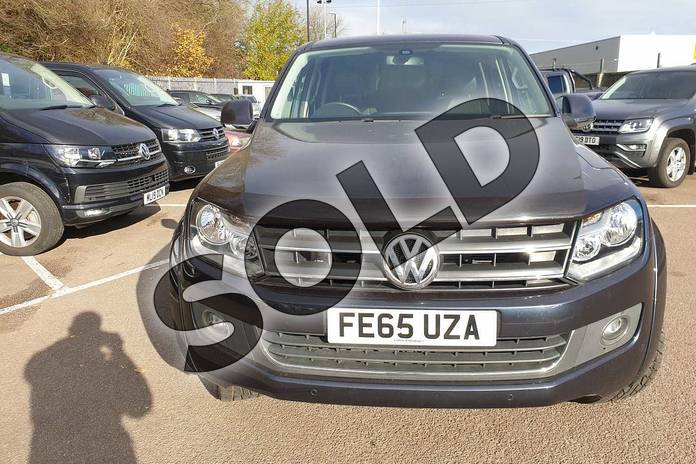 Image eight of this 2015 Volkswagen Amarok A32 Diesel D/Cab Pick Up Highline 2.0 BiTDI 180 BMT 4MTN Auto in Blue at Listers Volkswagen Van Centre Coventry