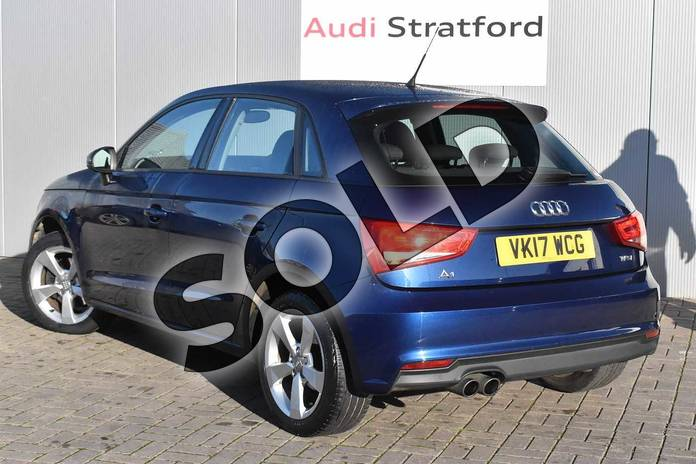 Image three of this 2017 Audi A1 Sportback 1.4 TFSI Sport 5dr in Scuba Blue Metallic at Stratford Audi