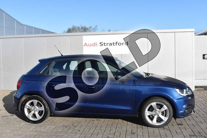 Image four of this 2017 Audi A1 Sportback 1.4 TFSI Sport 5dr in Scuba Blue Metallic at Stratford Audi