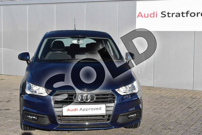 Image seven of this 2017 Audi A1 Sportback 1.4 TFSI Sport 5dr in Scuba Blue Metallic at Stratford Audi