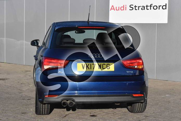 Image nine of this 2017 Audi A1 Sportback 1.4 TFSI Sport 5dr in Scuba Blue Metallic at Stratford Audi