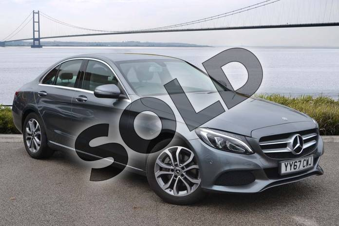 Picture of Mercedes-Benz C Class C200 Sport 4dr 9G-Tronic in Selenite Grey metallic