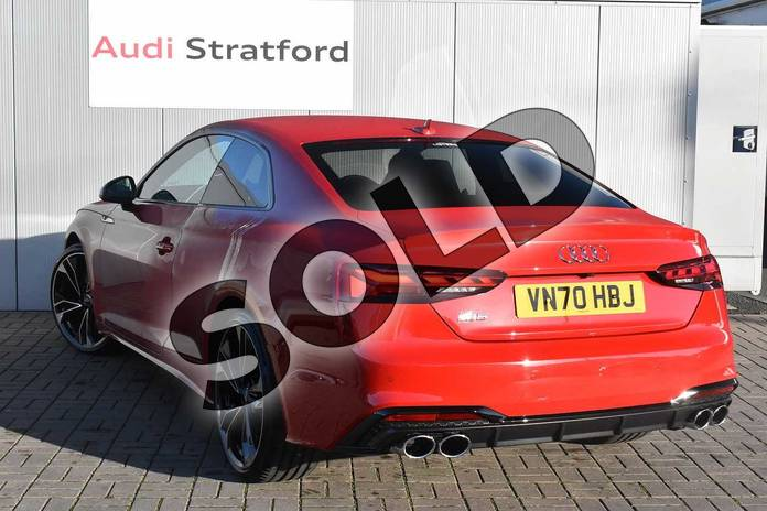 Image three of this 2020 Audi A5 Coupe Special Editions S5 TDI Quattro Edition 1 2dr Tiptronic in Tango Red Metallic at Stratford Audi
