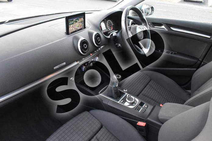 Image two of this 2013 Audi A3 Diesel Sportback 1.6 TDI Sport 5dr in Monsoon Grey Metallic at Stratford Audi
