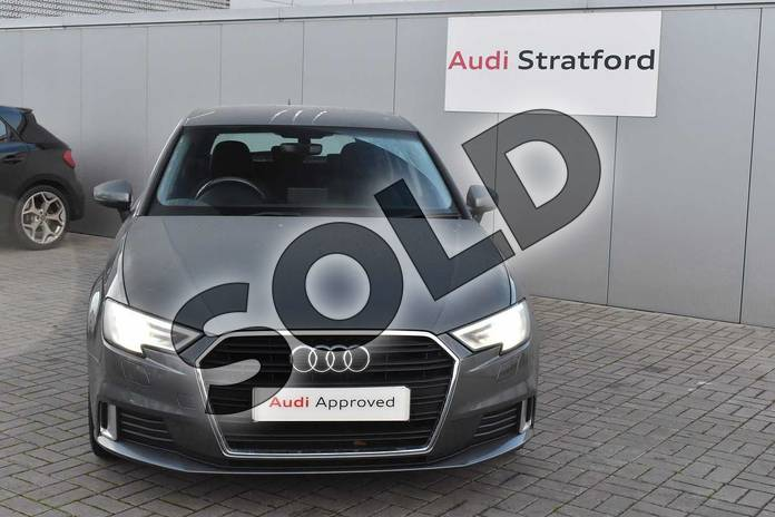 Image seven of this 2013 Audi A3 Diesel Sportback 1.6 TDI Sport 5dr in Monsoon Grey Metallic at Stratford Audi
