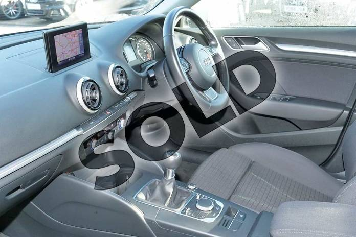 Image two of this 2013 Audi A3 Sportback 1.4 TFSI Sport 5dr in Ice Silver, metallic at Worcester Audi