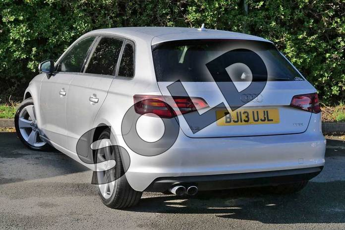 Image three of this 2013 Audi A3 Sportback 1.4 TFSI Sport 5dr in Ice Silver, metallic at Worcester Audi