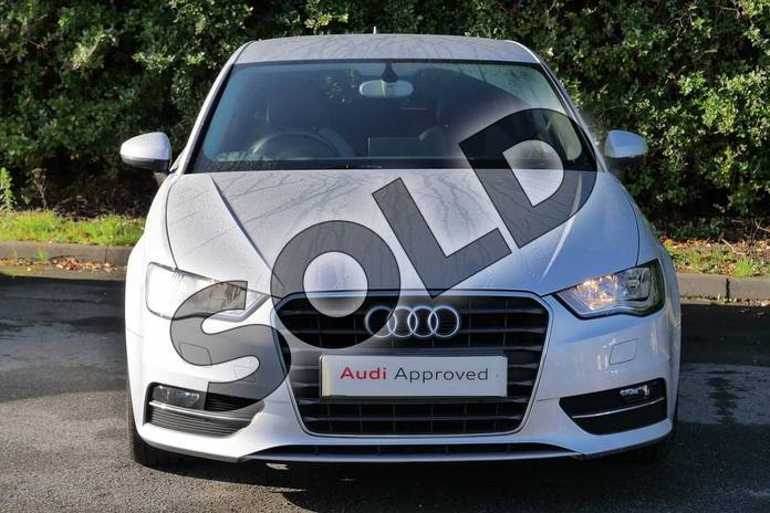 Image seven of this 2013 Audi A3 Sportback 1.4 TFSI Sport 5dr in Ice Silver, metallic at Worcester Audi