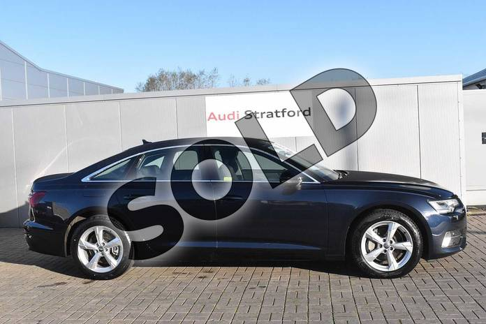 Image four of this 2020 Audi A6 Saloon 45 TFSI Quattro Sport 4dr S Tronic in Firmament Blue Metallic at Stratford Audi