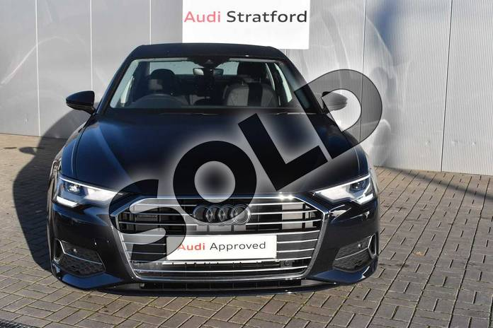 Image seven of this 2020 Audi A6 Saloon 45 TFSI Quattro Sport 4dr S Tronic in Firmament Blue Metallic at Stratford Audi