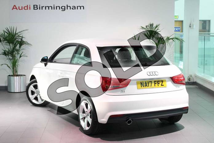 Image three of this 2017 Audi A1 Hatchback 1.0 TFSI Sport 3dr in Shell White at Birmingham Audi