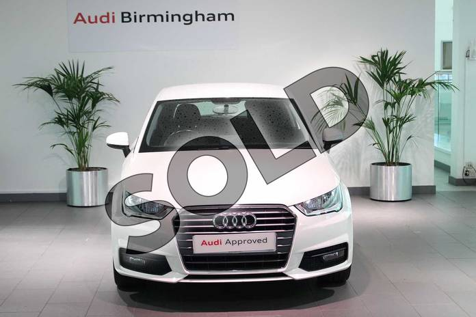 Image seven of this 2017 Audi A1 Hatchback 1.0 TFSI Sport 3dr in Shell White at Birmingham Audi