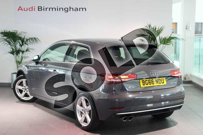 Image three of this 2016 Audi A3 Hatchback 1.4 TFSI Sport 3dr in Nano Grey Metallic at Birmingham Audi