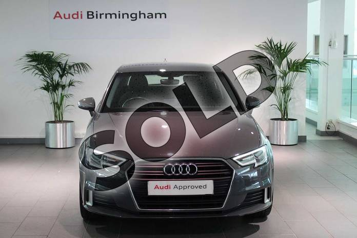 Image seven of this 2016 Audi A3 Hatchback 1.4 TFSI Sport 3dr in Nano Grey Metallic at Birmingham Audi