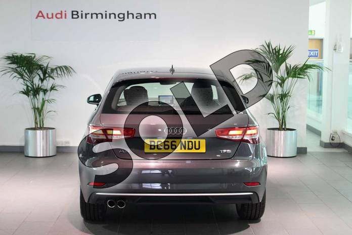 Image twelve of this 2016 Audi A3 Hatchback 1.4 TFSI Sport 3dr in Nano Grey Metallic at Birmingham Audi