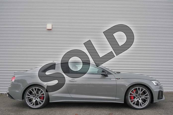 Image four of this 2020 Audi A5 Diesel Coupe S5 TDI Quattro 2dr Tiptronic in Quantum Grey at Coventry Audi