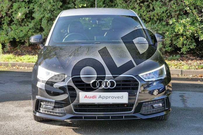 Image seven of this 2016 Audi A1 Sportback 1.4 TFSI S Line 5dr in Mythos Black, metallic at Worcester Audi