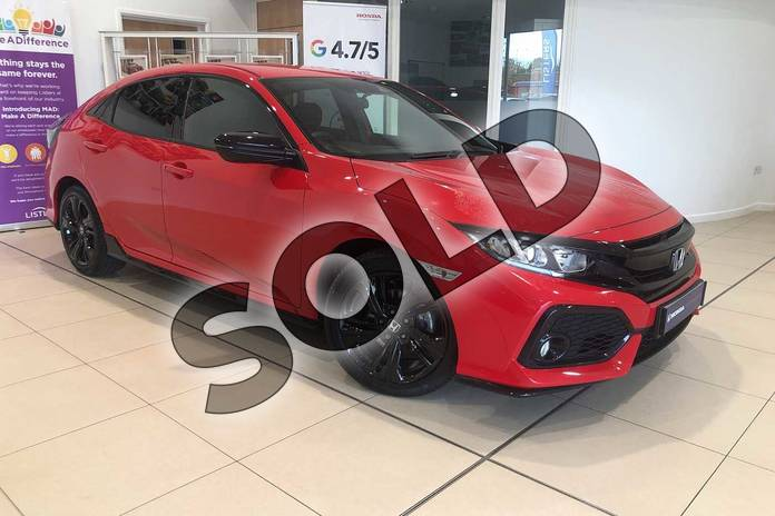 Picture of Honda Civic 1.0 VTEC Turbo 126 Sport Line 5dr CVT in Rallye Red