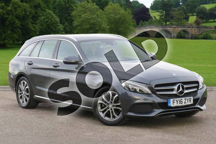 Picture of Mercedes-Benz C Class C220d Sport 5dr Auto in Tenorite Grey Metallic
