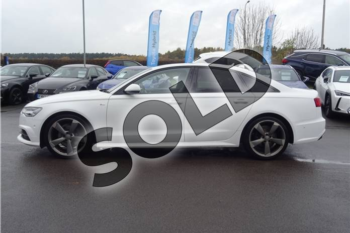 Image four of this 2015 Audi A6 Saloon Special Editions 2.0 TDI Ultra Black Edition 4dr in Solid - Ibis white at Listers Toyota Lincoln