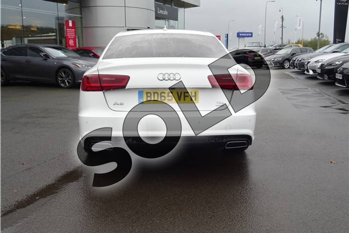 Image six of this 2015 Audi A6 Saloon Special Editions 2.0 TDI Ultra Black Edition 4dr in Solid - Ibis white at Listers Toyota Lincoln