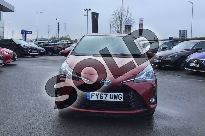 Image fifteen of this 2017 Toyota Yaris Hatchback 1.5 Hybrid Excel 5dr CVT in Tokyo Red at Listers Toyota Lincoln