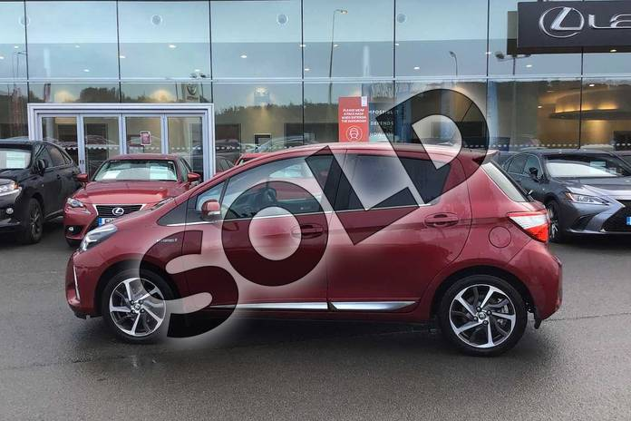 Image seventeen of this 2017 Toyota Yaris Hatchback 1.5 Hybrid Excel 5dr CVT in Tokyo Red at Listers Toyota Lincoln