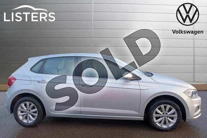 Image four of this 2018 Volkswagen Polo Hatchback 1.0 TSI 95 SE 5dr in Reflex Silver at Listers Volkswagen Leamington Spa