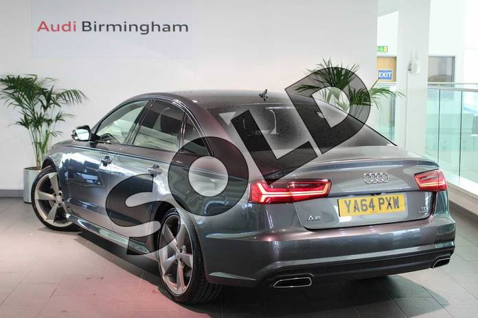 Image three of this 2014 Audi A6 Saloon Special Editions 3.0 BiTDI (320) Quattro Black Edition 4dr Tip Auto in Daytona Grey, pearl effect at Birmingham Audi