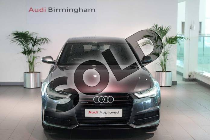 Image seven of this 2014 Audi A6 Saloon Special Editions 3.0 BiTDI (320) Quattro Black Edition 4dr Tip Auto in Daytona Grey, pearl effect at Birmingham Audi