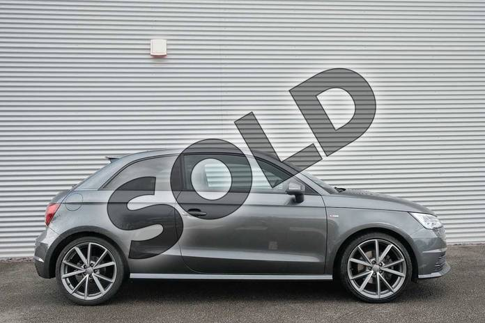 Image four of this 2017 Audi A1 Hatchback Special Editions 1.6 TDI Black Edition 3dr in Daytona Grey Pearlescent at Coventry Audi