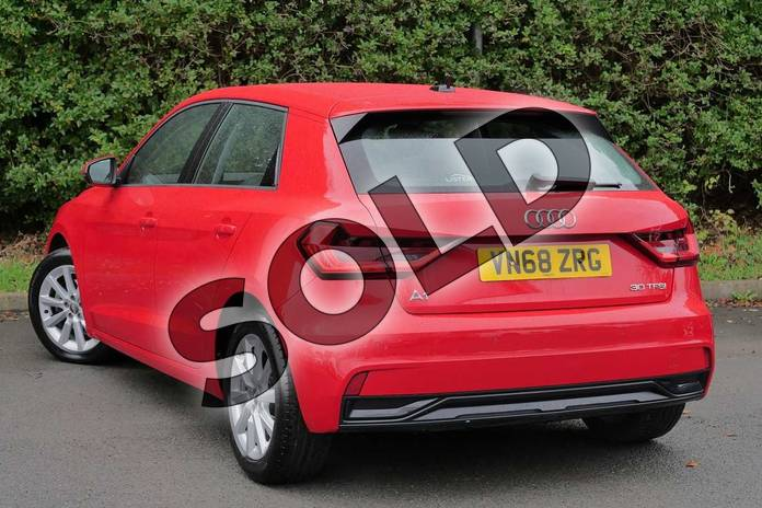 Image three of this 2018 Audi A1 Sportback 30 TFSI Sport 5dr in Misano Red Pearlescent at Worcester Audi