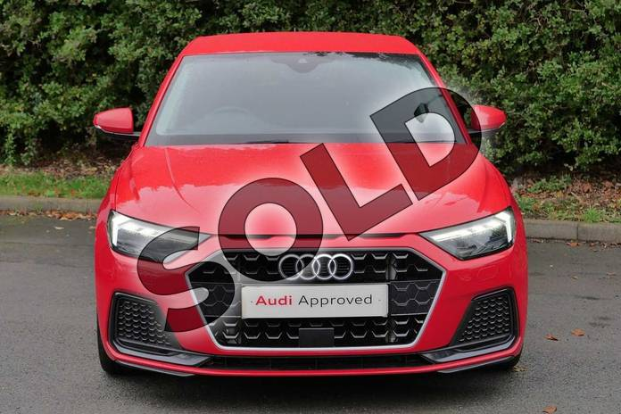 Image seven of this 2018 Audi A1 Sportback 30 TFSI Sport 5dr in Misano Red Pearlescent at Worcester Audi