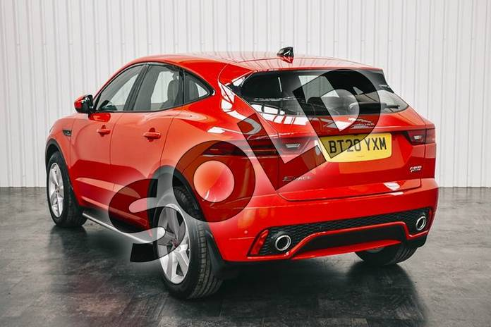 Image two of this 2020 Jaguar E-PACE D180 R-Dynamic SE AWD in Caldera Red at Listers Jaguar Solihull