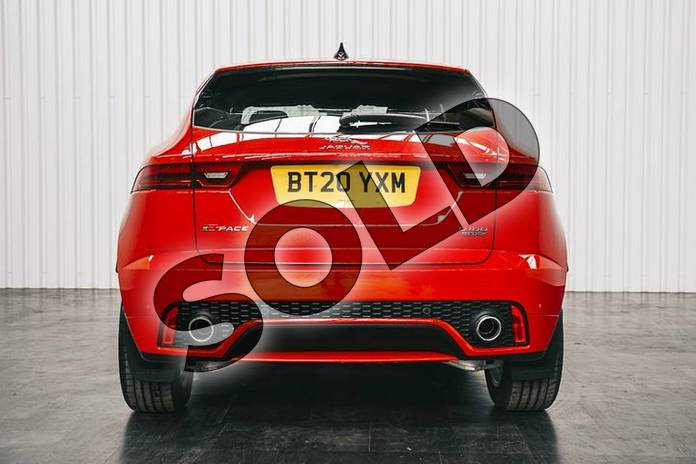 Image six of this 2020 Jaguar E-PACE D180 R-Dynamic SE AWD in Caldera Red at Listers Jaguar Solihull