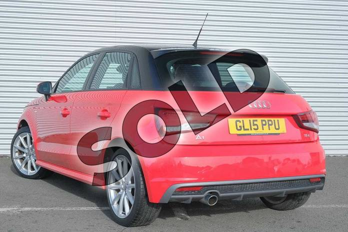 Image three of this 2015 Audi A1 Diesel Sportback 1.6 TDI S Line 5dr in Misano Red, pearl effect at Coventry Audi