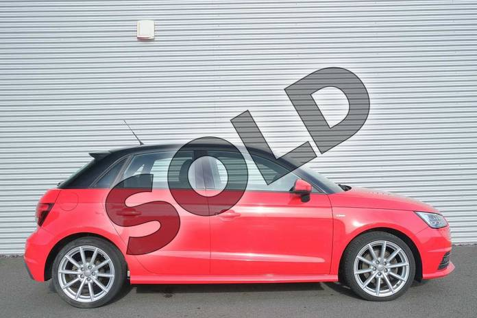 Image four of this 2015 Audi A1 Diesel Sportback 1.6 TDI S Line 5dr in Misano Red, pearl effect at Coventry Audi