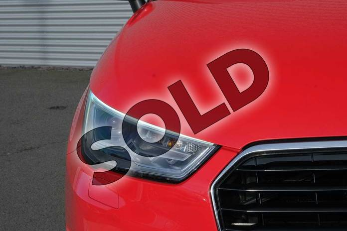 Image nine of this 2015 Audi A1 Diesel Sportback 1.6 TDI S Line 5dr in Misano Red, pearl effect at Coventry Audi