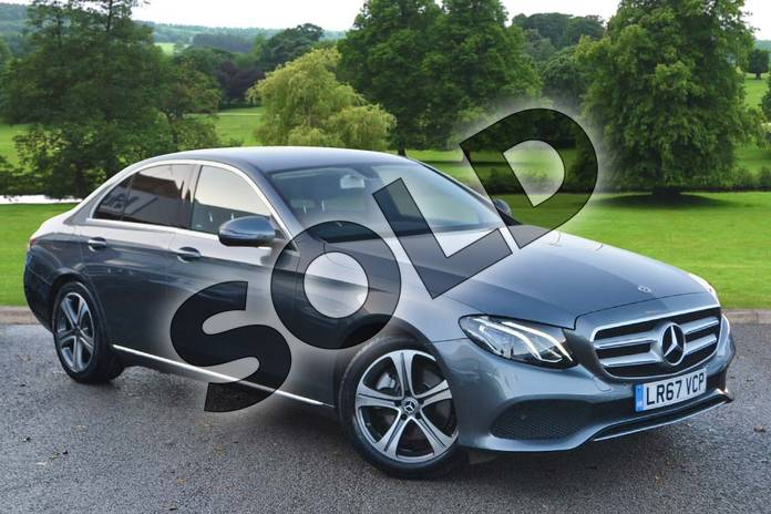 Picture of Mercedes-Benz E Class E220d SE 4dr 9G-Tronic in Selenite Grey metallic
