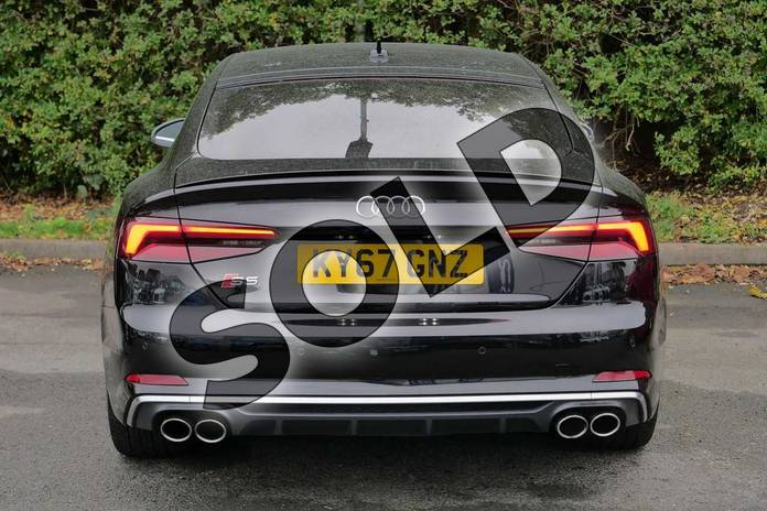 Image nine of this 2017 Audi A5 Sportback S5 Quattro 5dr Tiptronic in Myth Black Metallic at Worcester Audi