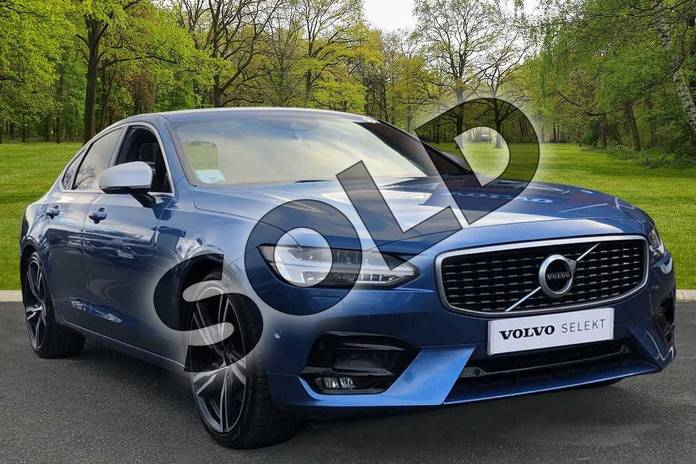 Picture of Volvo S90 2.0 D5 PowerPulse R DESIGN 4dr AWD Geartronic in Bursting Blue