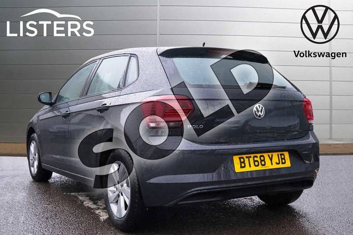 Image three of this 2018 Volkswagen Polo Hatchback 1.0 TSI 95 SE 5dr in Urano Grey at Listers Volkswagen Leamington Spa