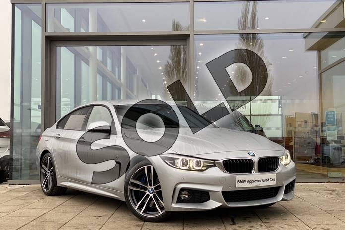 Picture of BMW 4 Series 440i M Sport 5dr Auto (Professional Media) in Glacier Silver