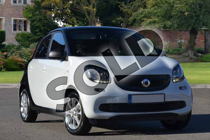 Picture of smart Forfour 1.0 Passion 5dr in white