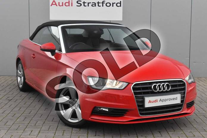 Picture of Audi A3 1.4 TFSI 150 Sport 2dr in Brilliant Red