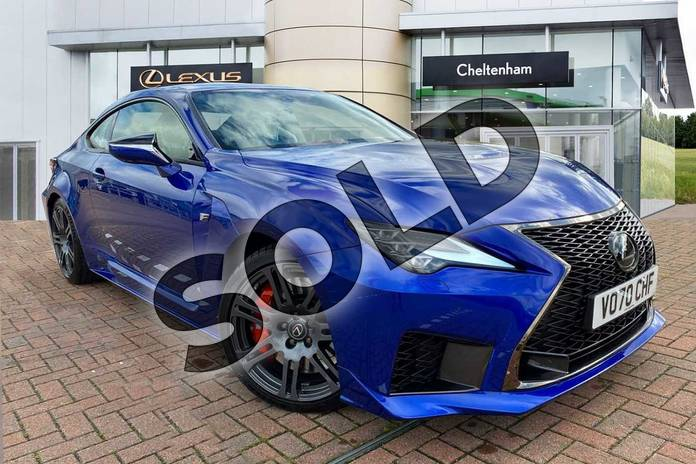 Picture of Lexus RC 5.0 2dr Auto (Sunroof) in Blue