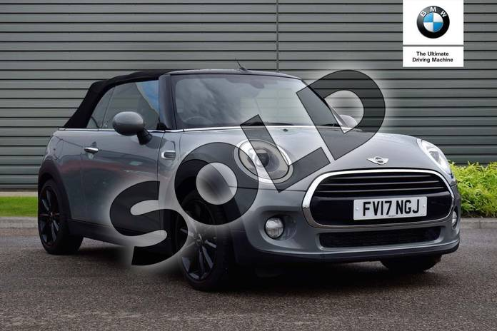 Picture of MINI Convertible 1.5 Cooper 2dr in Moonwalk Grey